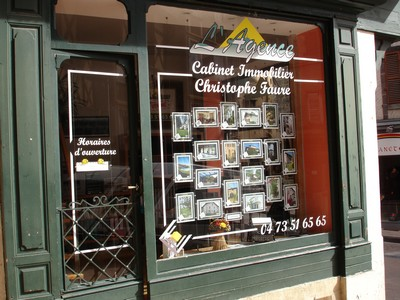 L'AGENCE Cabinet immobilier Ch. FAURE